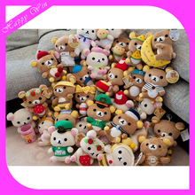 2016 soft rilakkuma plush toy custom made cheap plush rilakkuma