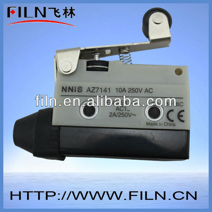 normally open on-off roller lever electronic push button micro switch 125V