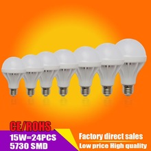 Wholesale Led E27  Led Bulb 3W 5W 7W 9W 10W 12W 15W 20W  LED Lamp 110V 220V Cold Warm White Bulb Led Illumination Lighting