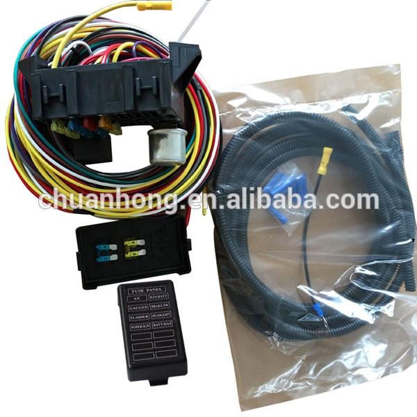 car wiring harness kits 8 circuit fuse wiring harness kits classic automotive auto car  8 circuit fuse wiring harness kits
