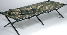 Military folding portable camping bed