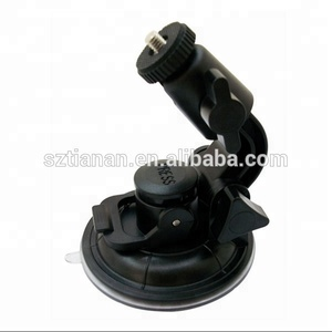 Ajustable Big Suction Cup Windshield Mount Car Mirror Camera Mount For 1/4 Screw and DVR