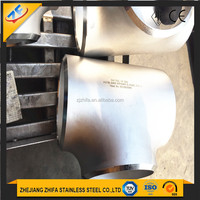 low price stainless steel tee pipe fitting