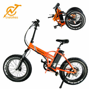 China Wholesale High Quality Foldable Ebike 20 Inch Mini Fat Tire Folding Electric Bike