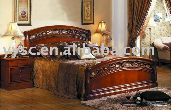 Superb Modern Oka Or Rosewood Solid Wooden Furniture Sets   Buy Wooden Furniture,Bed  Set Furniture,Bedroom Furniture Set Product On Alibaba.com