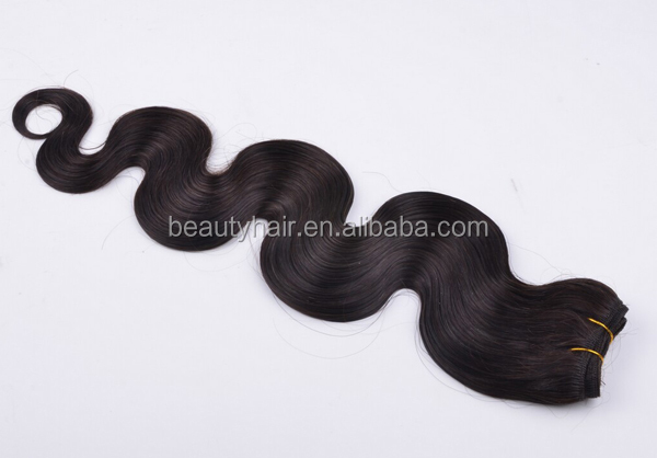 Factory Cheap wholesale unprocessed virgin 100% brazilian human Body Wave Weft hair extenion