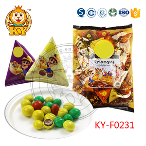 New arrival sweet mini snack chocolate beans candy KY-F0231