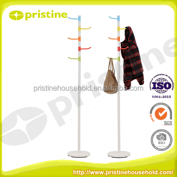 High quality Metal portable easy essembly Tree Shaped Coat Rack