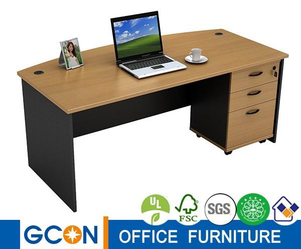 Melamina moderno escritorio ejecutivo oficina sistema for Escritorio de oficina precio