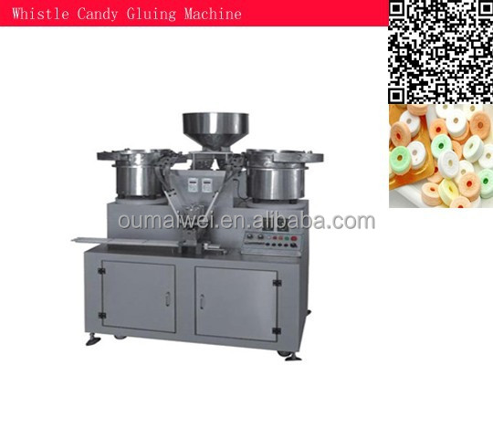 OMW whistle candy binding machine, whistle candy auto bonding machine