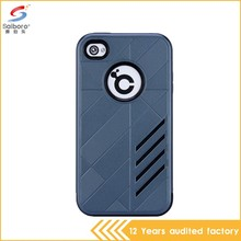 Factory price anti-scratch bulk cheap pc tpu phone covers for iphone 4s