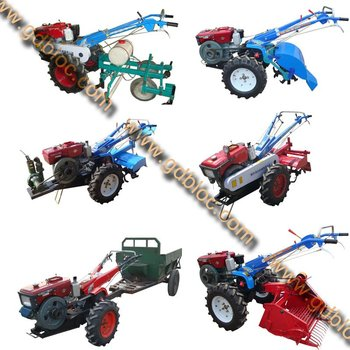 8hp/10.5hp/12hp/15hp/18hp Walking Tractor / Hand Tractor / Power ...