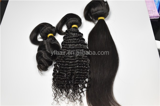 Wholesale pure human remy 18 inch machine weft braid in bundle 8a grade natural color indian virgin hair