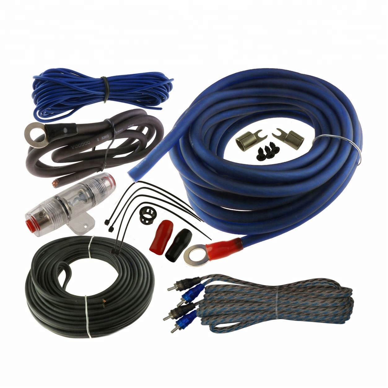 3000w 4 Gauge Amp Install Wiring Kit 4 Awg Amplifier Installation Cable on pt cruiser car kit, amp cable, amp installation kit, car amp kit, amp connectors, amp wire kit, amp install kit,