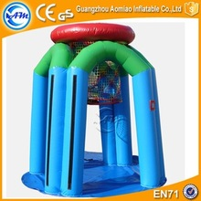 Inflatable Basketball Hoop School Game Indoor Basketball Hoop Toys for Rainy Day Fun