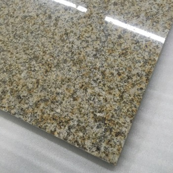 G682 Polished Flamed Rustic Yellow Granite Sunset Gold Building Stone Tile