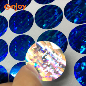 3D Hologram Anti Counterfeiting Security Label Sticker Printing