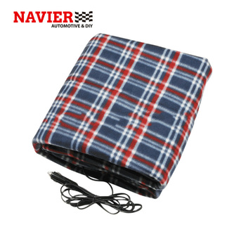 Z35a 3 12v Dc 42w Flannelette Car Heated Blanket For Winter Season