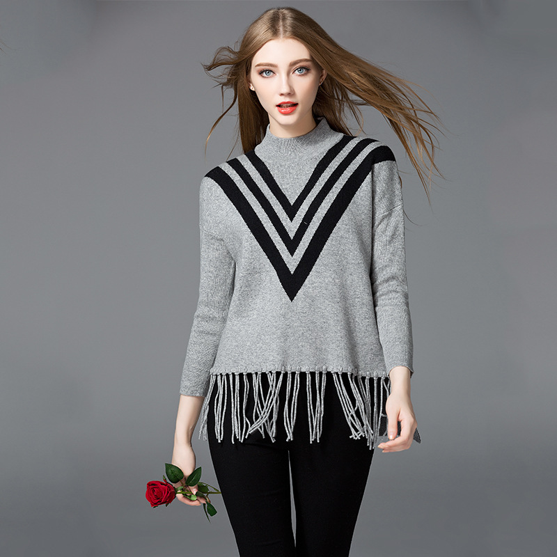 Dalang factory supply beautiful latest sweater designs for girls sweater design