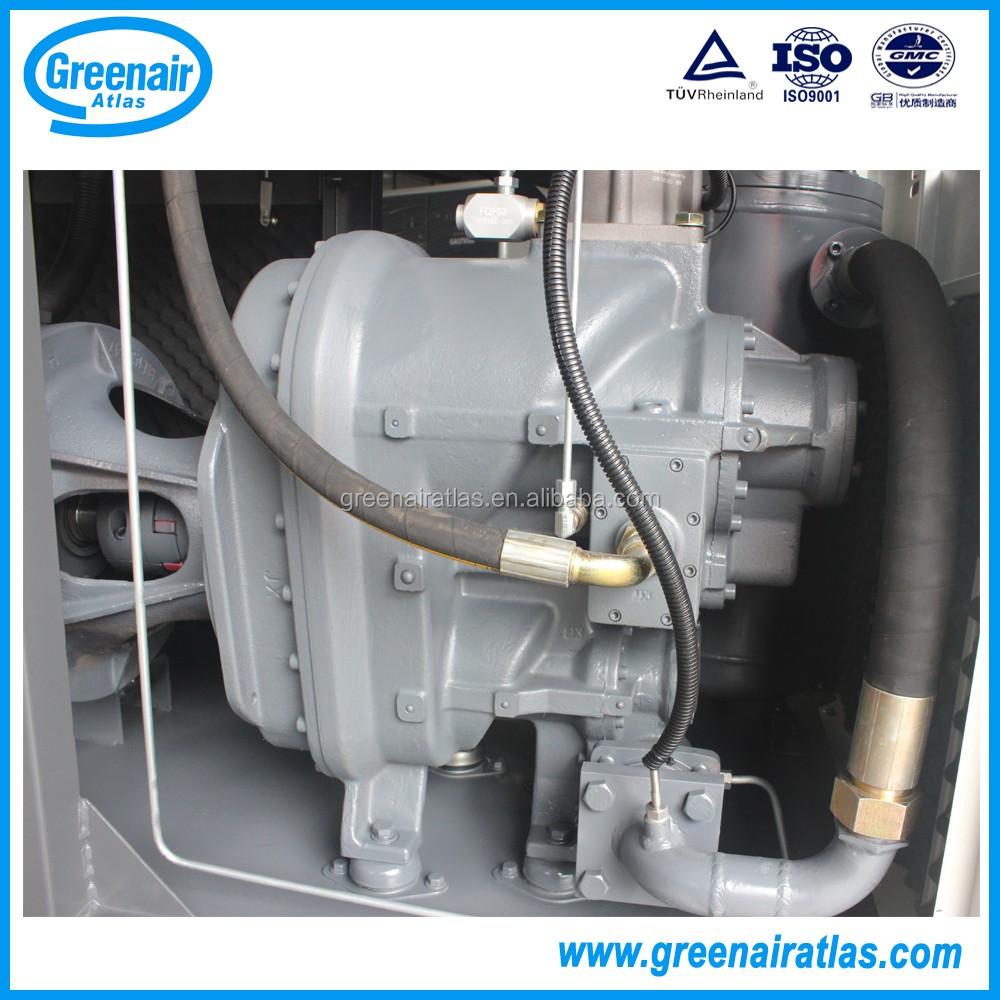 Atlas copco ga37 37kw 50hp two stage direct driven screw air compressor