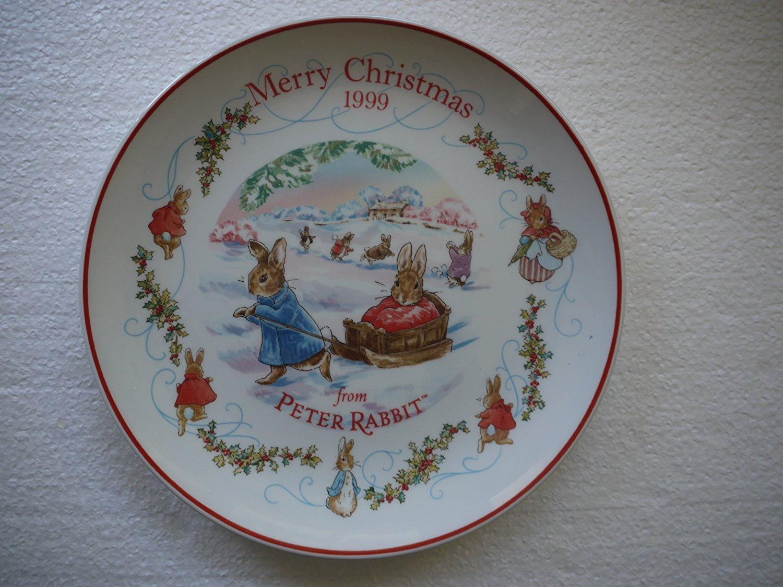 Wedgwood Peter Rabbit Christmas Plate