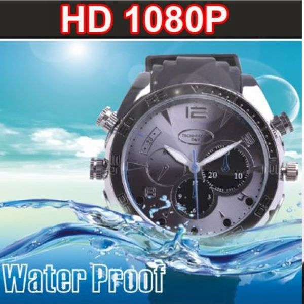1920*1080P digital spy Watch wireless hidden camera W5000 with Ir night vision