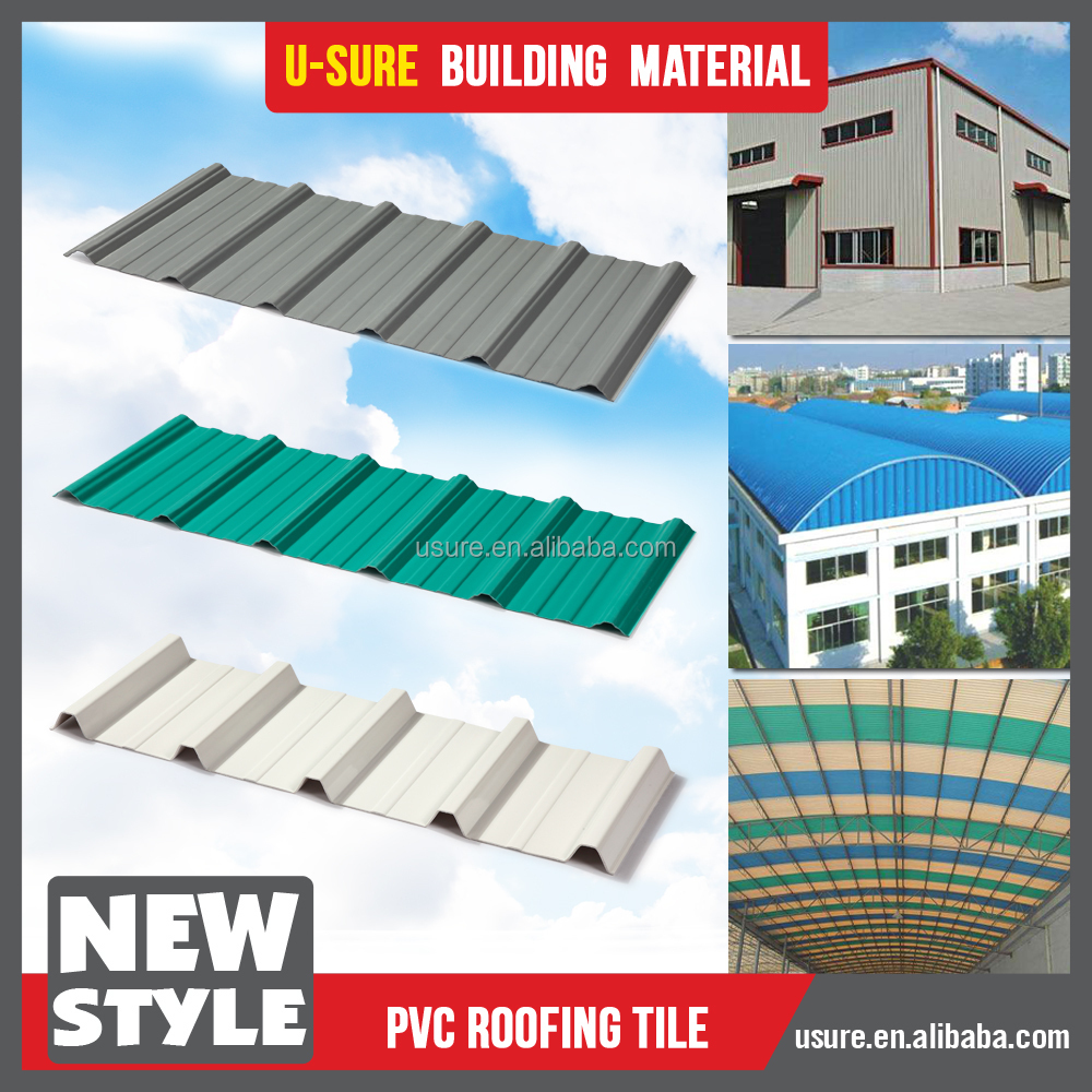 Fire Resistant Roof Tile : Highly fire resistant pvc thin plastic sheet waterproof