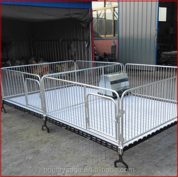Pig Farming Equipment Hot Dipped Galvanized Fattening Finishing Farrowing Crates Pig Pen