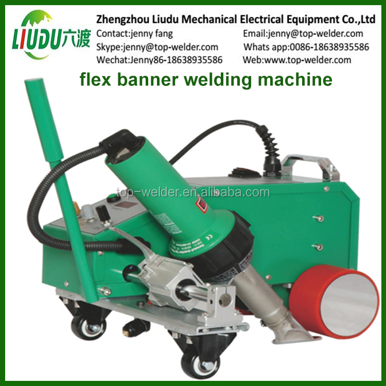 Portable Hot Wedge Tarpaulin Sealing Welding Machine