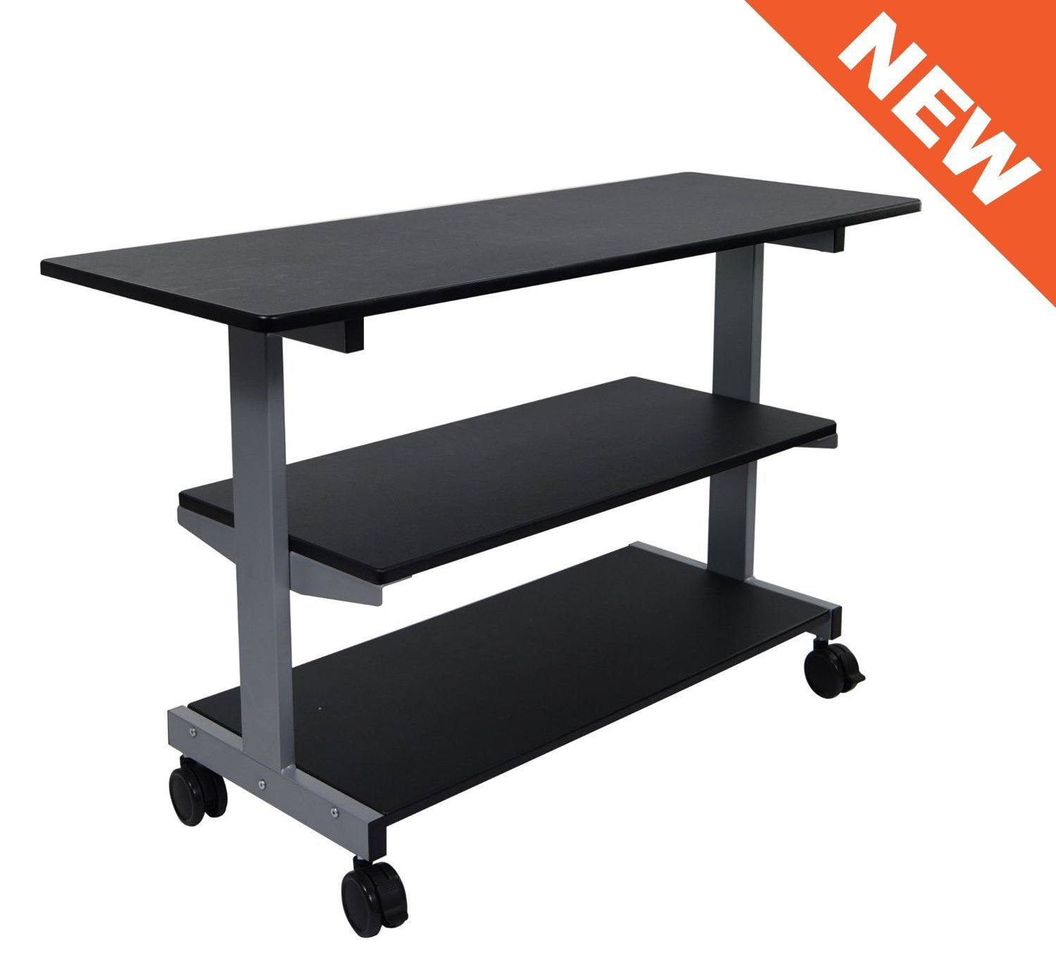 choice amazon computer shelf products home with desk office com best shelves leaning furniture bookcase