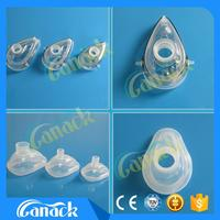Medical Consumables colored ski masks Silicone Anesthesia Mask