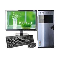 Intel dual core 2.2G desktop case with DVD cd-rom optional