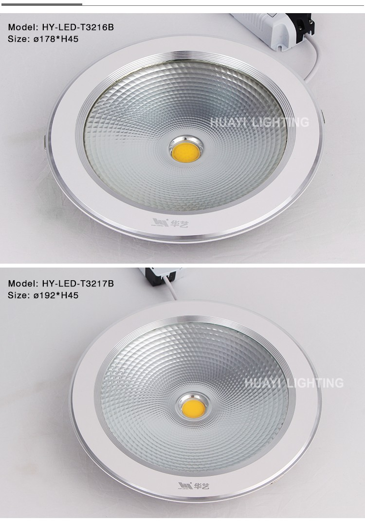 Wholesale Low Price 3w 5w 12w 25w Exporter Recessed COB LED Down Light