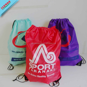 Hot Sale Advertising Free Design Padded Drawstring Bags