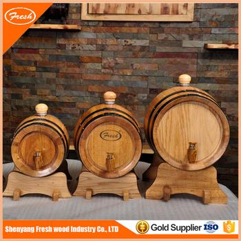Hot Sale Cheap Decorative Mini Oak Wooden Wine Whisky Beer Barrels