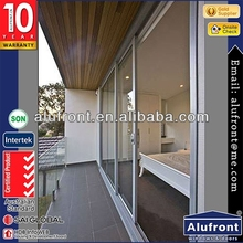 Aluminum Frame Sliding Doors/Aluminum Glass Doors for Residence
