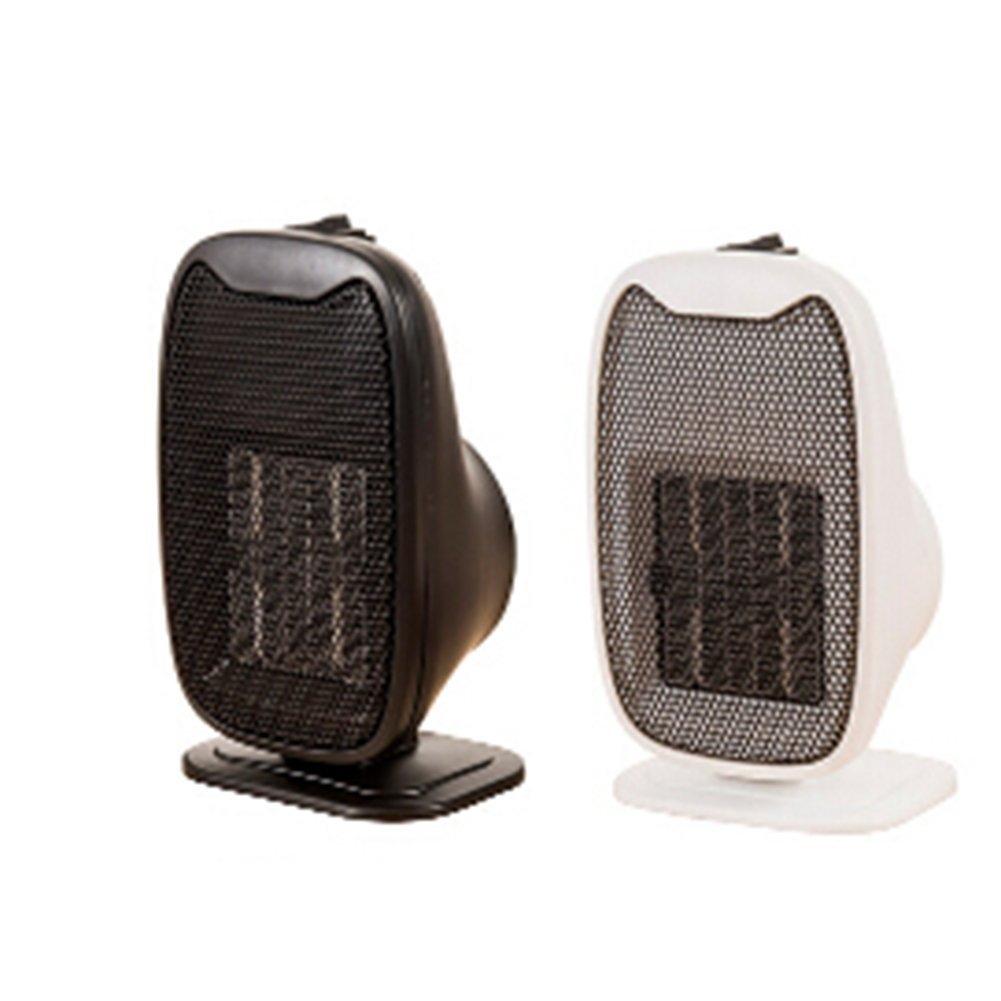 Mini PTC Ceramic Space Heater, H-COME 220V Ceramic Portable Personal Electric Space Heater 500 Watt For safe USE, Color Shipped Randomly (Model-1)