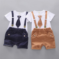 New Model Infant Boys Clothing Sets Fashion Kids Clothes Wholesale 2pcs Baby boy Clothes set