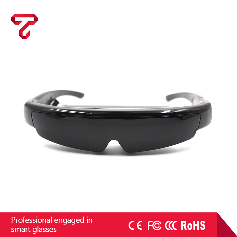 98Inch 3D Video Glasses Goggles 1080P HMD Portable Personal Cinema Theater Support AV input and VGA input Computer Glasses