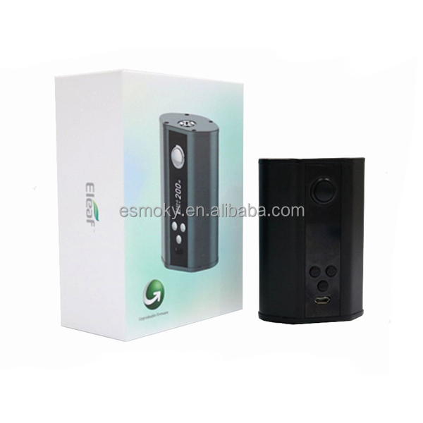 100% Authentic Eleaf iStick 200W TC Box Mod Firmware Upgradable Ecigarette Mod With TC-SS TCR Mode