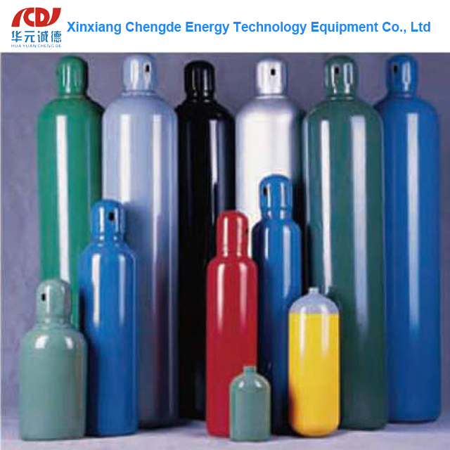 40L Empty Gas Cylinder for Oxygen Nitrogen Argon