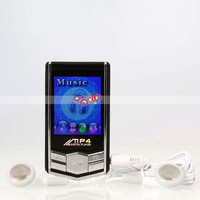 Cheap 8GB 1.8-Inch MP4 Player With FM Radio Black