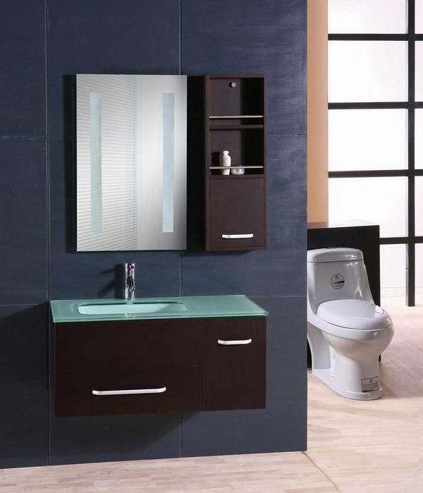 Wash Basin Bathroom Mirror Cabinet