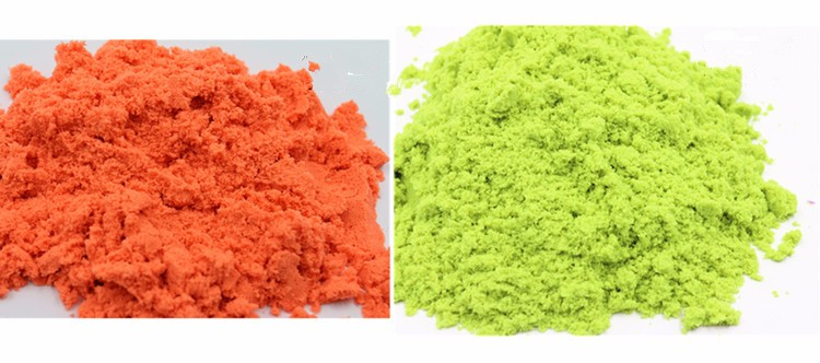 In Bulk packing Crazy Dynamic Sand For Children Magic Sand 500g/bag In Hot Selling