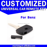 Replacement Transponder Car Key Shell Blank 2 Track For Mercedes Benz Key Shell Entry Key Fob CS065
