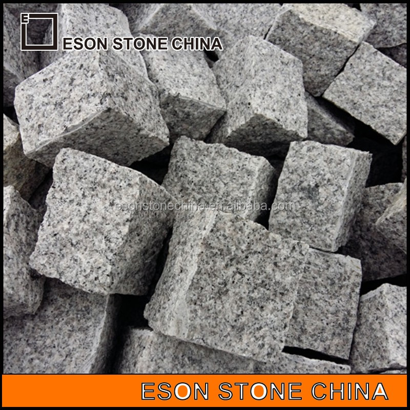 Eson Stone g603 granite cube stone natural split finishing for outer road