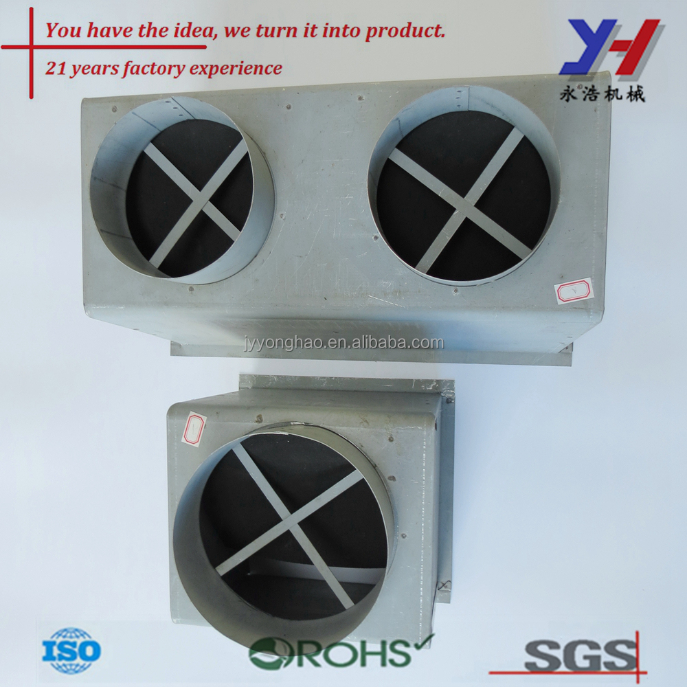 OEM ODM Custom Exhaust Fan Housing for Air Conditioning System