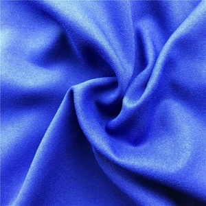 New fashion poly plain ladies dress crepe fabric