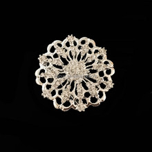 fashion jewelry cheap bridal rhinestone brooch for Women