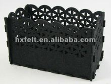 Felt Box For Storage Sundries With Beautiful Decoration